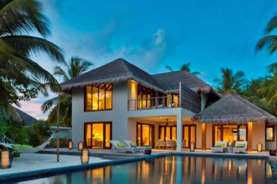 Two bedroom beach residence with pool